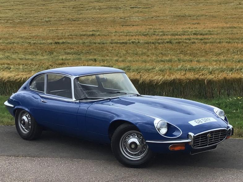 JAGUAR E-Type DEMO + 2 PRIVATE  OWNERS FROM NEW