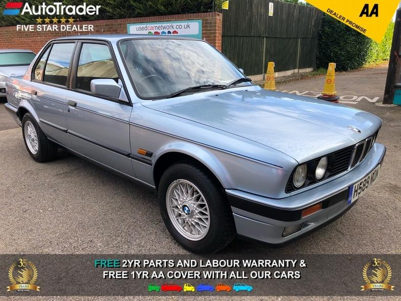 BMW 316 E30 316i LUX 4 DOOR SALOON ULTRA LOW MILES FSH 17 STAMPS 1 FORME
