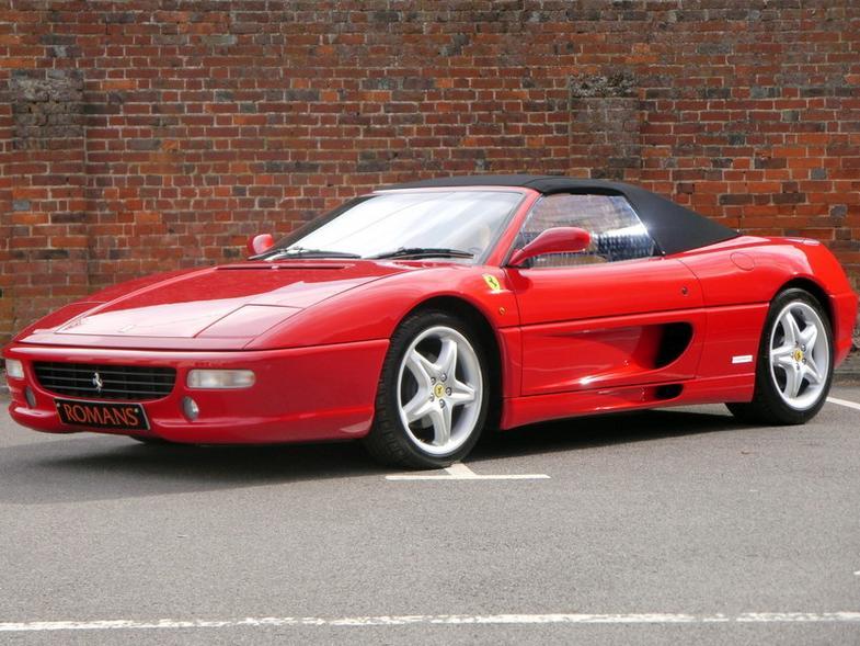 Ferrari 355 GTS Spider Manual - 2750 miles - Immaculate